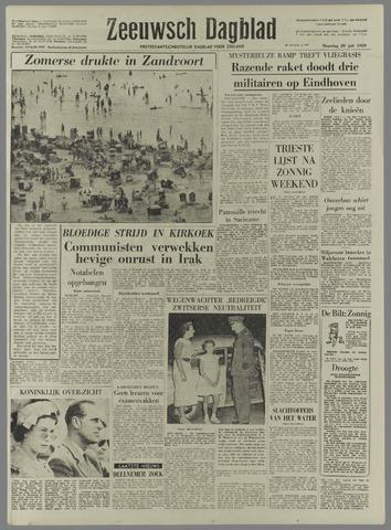 Zeeuwsch Dagblad 1959-07-20