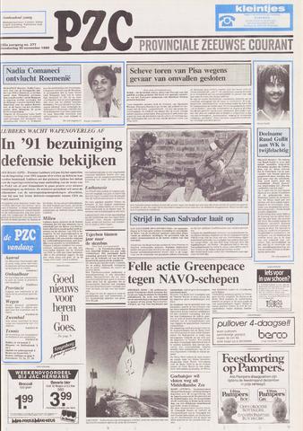 Provinciale Zeeuwse Courant 1989-11-30