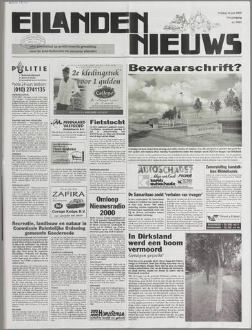 Eilanden-nieuws. Christelijk streekblad op gereformeerde grondslag 2000-07-14