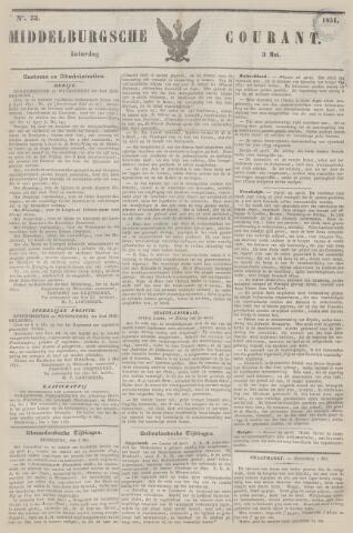Middelburgsche Courant 1851-05-03