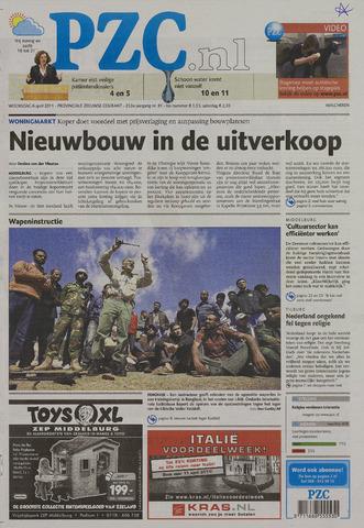 Provinciale Zeeuwse Courant 2011-04-06
