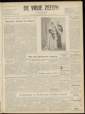 de Vrije Zeeuw 1954-11-19