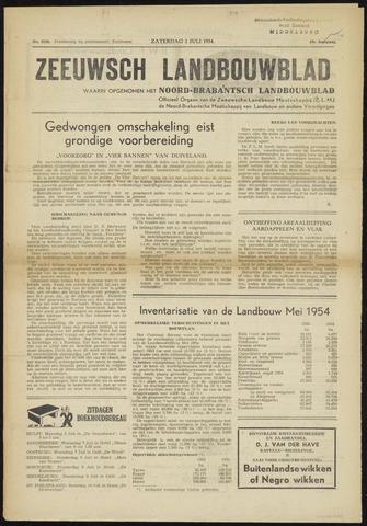Zeeuwsch landbouwblad ... ZLM land- en tuinbouwblad 1954-07-03