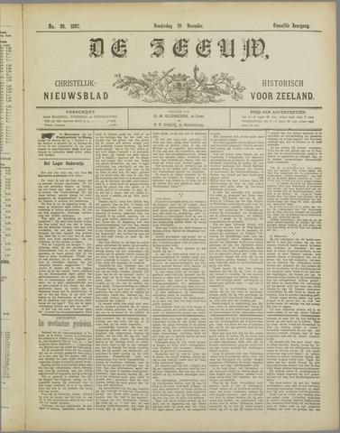 De Zeeuw. Christelijk-historisch nieuwsblad voor Zeeland 1897-12-30