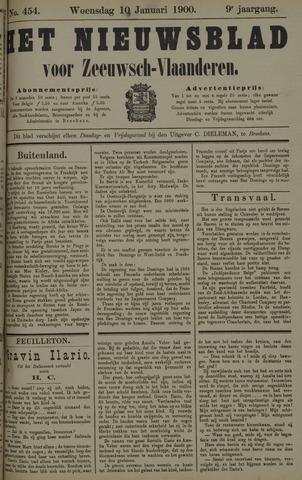 Nieuwsblad voor Zeeuwsch-Vlaanderen 1900-01-10