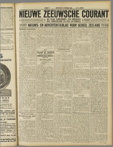 Nieuwe Zeeuwsche Courant 1930-02-20