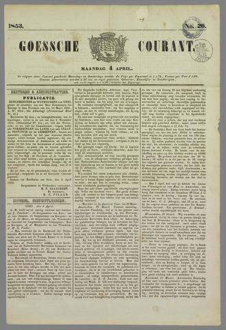 Goessche Courant 1853-04-04