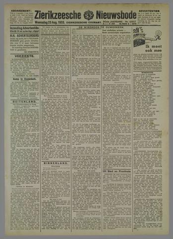 Zierikzeesche Nieuwsbode 1933-07-23
