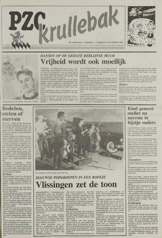 Provinciale Zeeuwse Courant katern Krullenbak (1981-1999) 1989-12-12