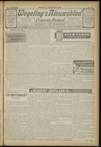 Zeeuwsch Nieuwsblad/Wegeling's Nieuwsblad 1929-09-27