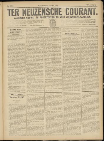 Ter Neuzensche Courant. Algemeen Nieuws- en Advertentieblad voor Zeeuwsch-Vlaanderen / Neuzensche Courant ... (idem) / (Algemeen) nieuws en advertentieblad voor Zeeuwsch-Vlaanderen 1930-07-02