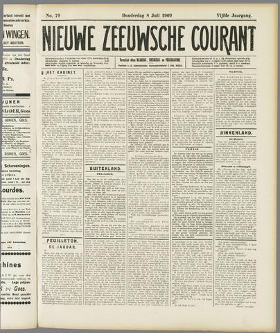 Nieuwe Zeeuwsche Courant 1909-07-08