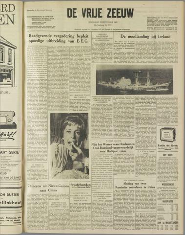 de Vrije Zeeuw 1962-09-26