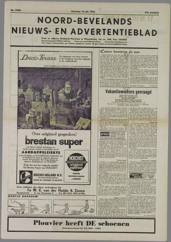 Noord-Bevelands Nieuws- en advertentieblad 1966-07-16