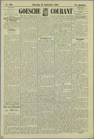 Goessche Courant 1924-09-13