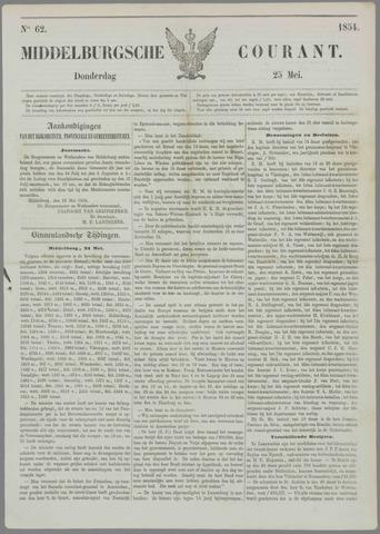 Middelburgsche Courant 1854-05-25