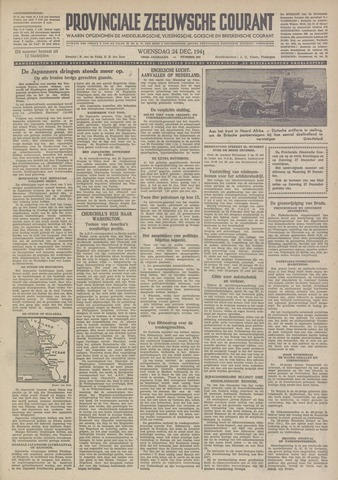 Provinciale Zeeuwse Courant 1941-12-24