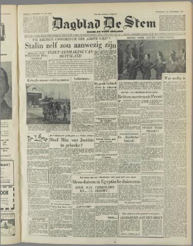 de Stem 1951-09-26