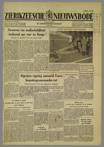 Zierikzeesche Nieuwsbode 1960-07-01