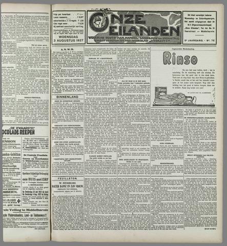 Onze Eilanden 1927-08-03