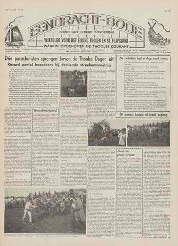 Eendrachtbode (1945-heden)/Mededeelingenblad voor het eiland Tholen (1944/45) 1969-07-03