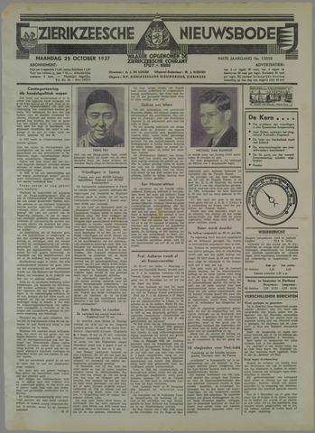 Zierikzeesche Nieuwsbode 1937-10-25