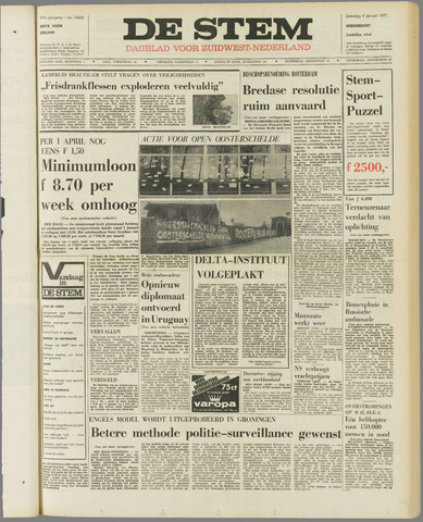 de Stem 1971-01-09
