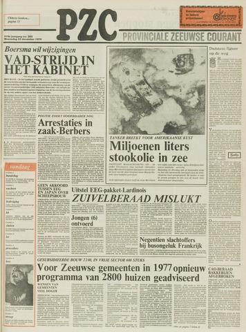 Provinciale Zeeuwse Courant 1976-12-22