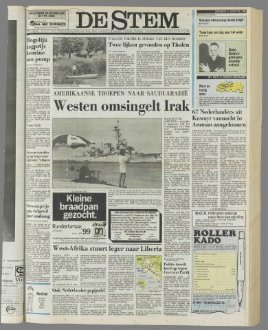 de Stem 1990-08-08