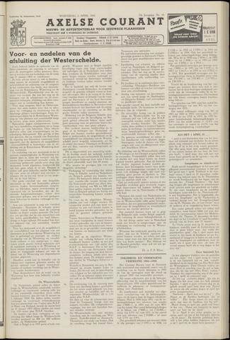 Axelsche Courant 1958-04-02