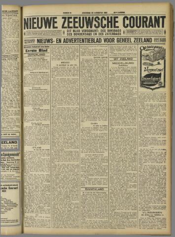 Nieuwe Zeeuwsche Courant 1927-08-20
