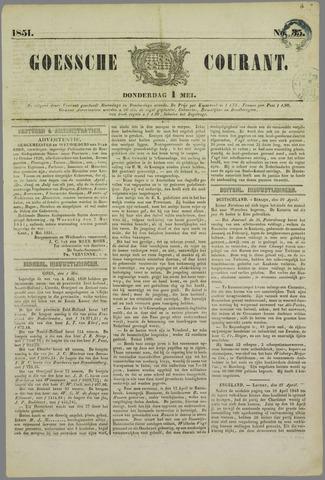 Goessche Courant 1851-05-01