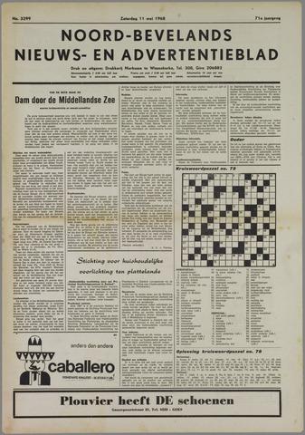 Noord-Bevelands Nieuws- en advertentieblad 1968-05-11