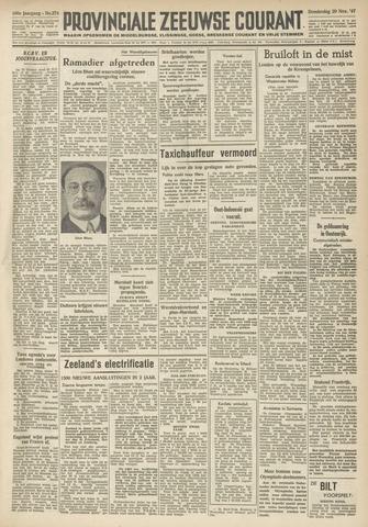 Provinciale Zeeuwse Courant 1947-11-20