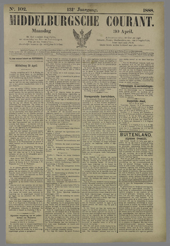 Middelburgsche Courant 1888-04-30