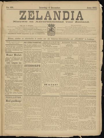 Zelandia. Nieuws-en advertentieblad voor Zeeland | edities: Het Land van Hulst en De Vier Ambachten 1902-12-06