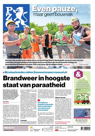 Provinciale Zeeuwse Courant 2018-07-17