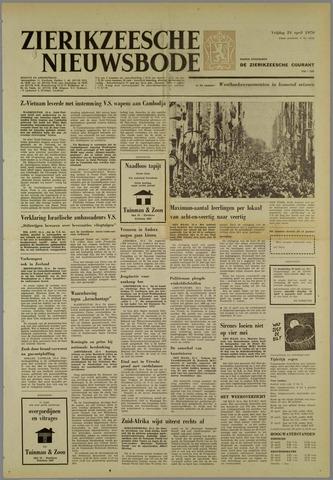 Zierikzeesche Nieuwsbode 1970-04-24
