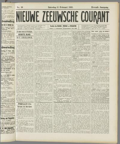 Nieuwe Zeeuwsche Courant 1911-02-11