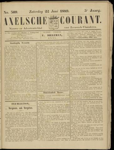 Axelsche Courant 1889-06-22