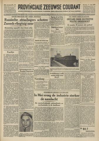 Provinciale Zeeuwse Courant 1952-06-17