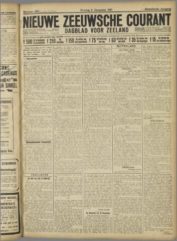 Nieuwe Zeeuwsche Courant 1921-12-06