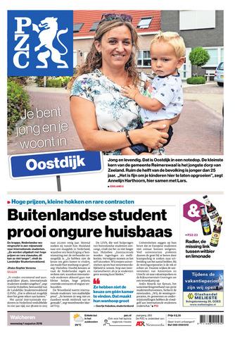 Provinciale Zeeuwse Courant 2018-08-01