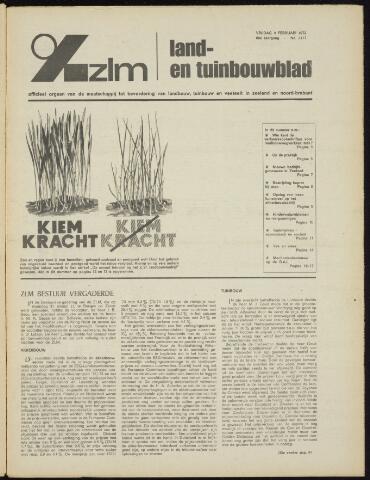 Zeeuwsch landbouwblad ... ZLM land- en tuinbouwblad 1972-02-04