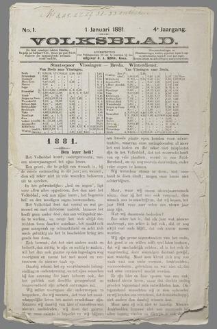 Volksblad 1881