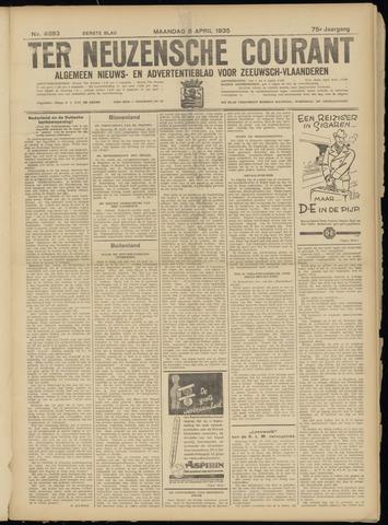Ter Neuzensche Courant. Algemeen Nieuws- en Advertentieblad voor Zeeuwsch-Vlaanderen / Neuzensche Courant ... (idem) / (Algemeen) nieuws en advertentieblad voor Zeeuwsch-Vlaanderen 1935-04-08