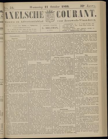 Axelsche Courant 1916-10-11