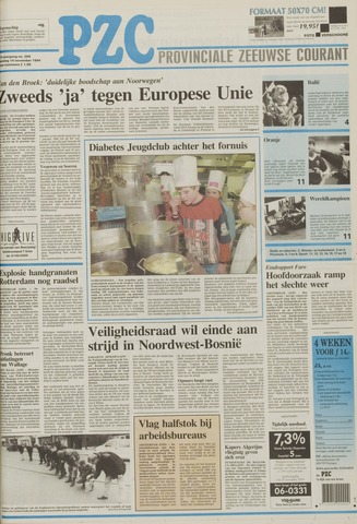 Provinciale Zeeuwse Courant 1994-11-14