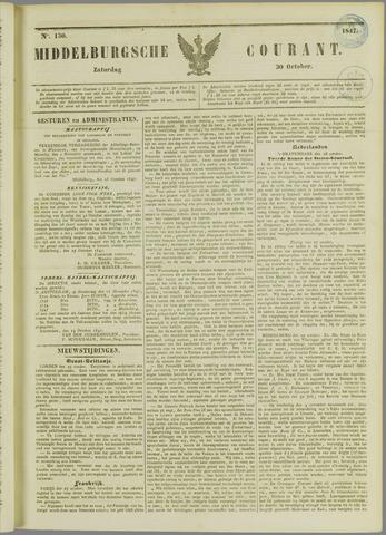 Middelburgsche Courant 1847-10-30