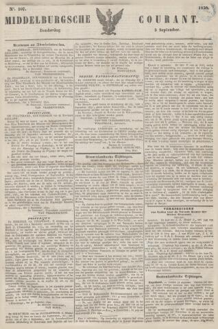 Middelburgsche Courant 1850-09-05